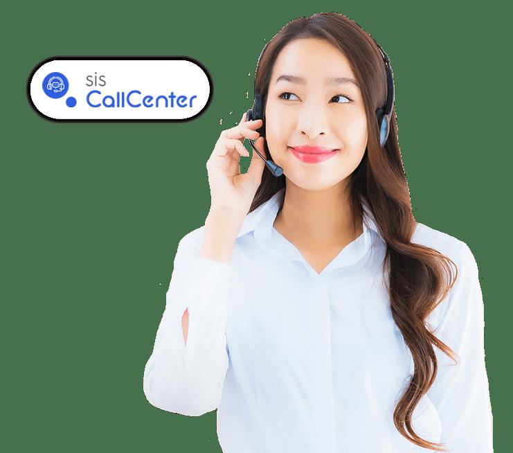 Discador Automático sisCallCenter Pluri Sistemas operador e agente-min