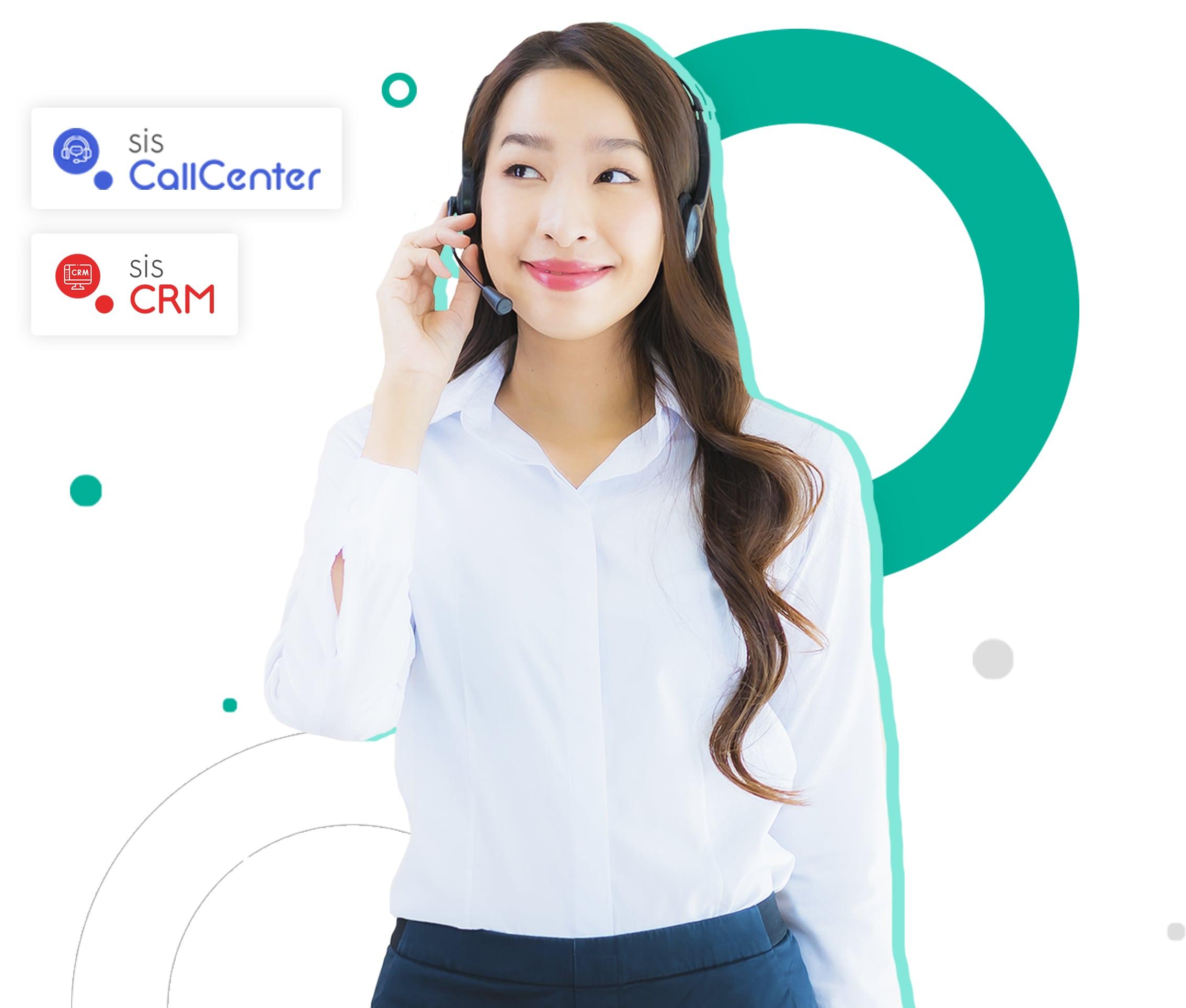 Sistemas Call Center Pluri Sistemas. CRM e Discador Automático. CRM + Call Center