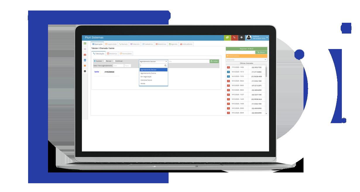 Software para Call Center e Monitoria de Agentes