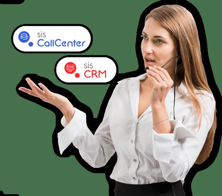Integração CRM + callcenter Pluri Sistemas CRM Completo - Discador Automático e Gestão