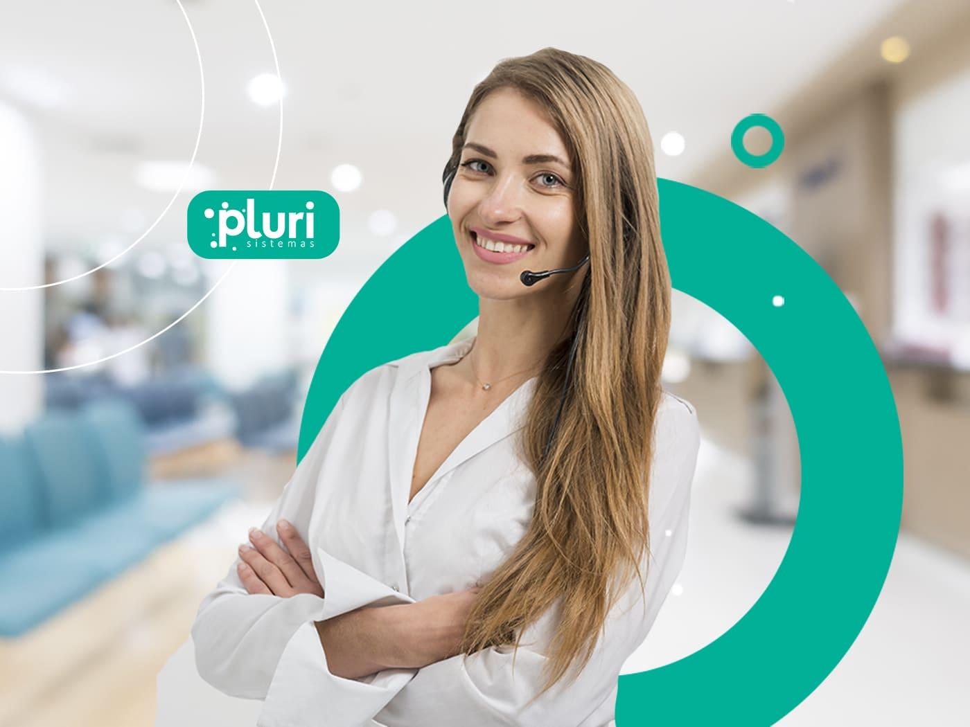 Banner Tecnologias para Clínicas de Saúde - Pluri Sistemas