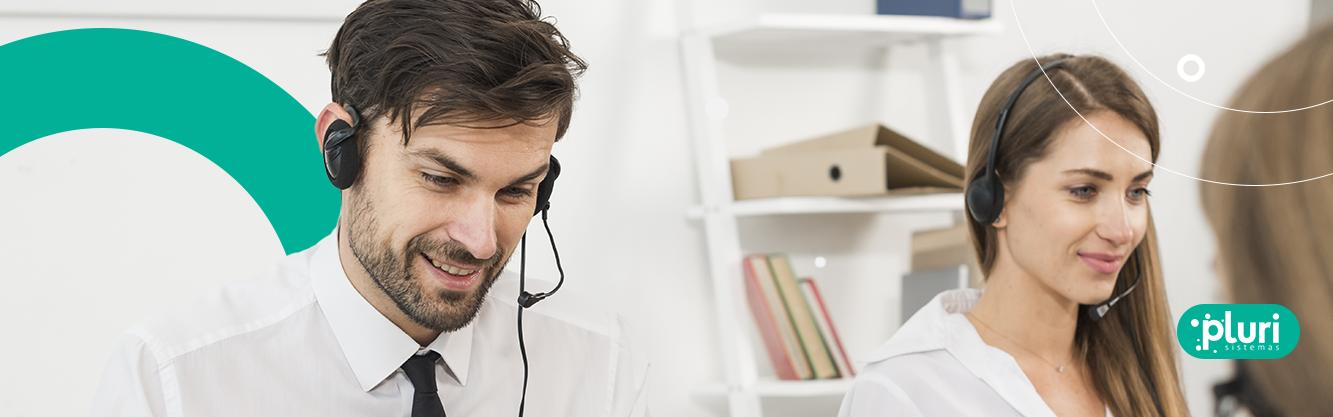 gravação de chamadas call center