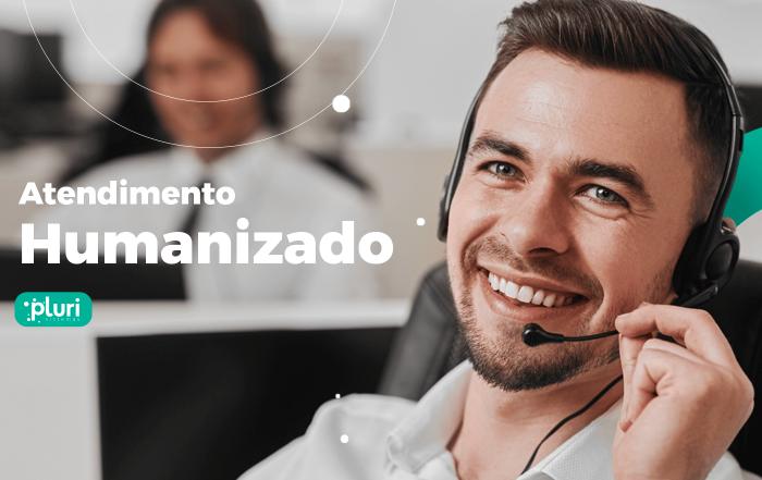banner atendimento humanizado call center