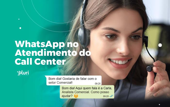 banner whatsapp call center pluri sistemas